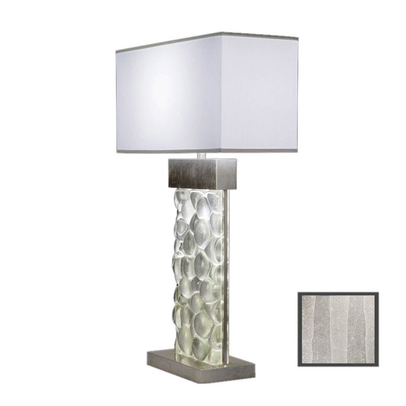 Fine Art Lamps 824610-33ST Crystal Bakehouse Two-Light Table Lamp with