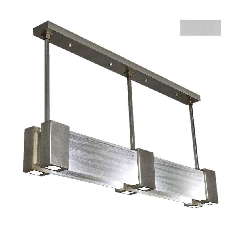 "Fine Art Lamps 825040-23ST Crystal Bakehouse 55"" Wide Six-Light Linear"
