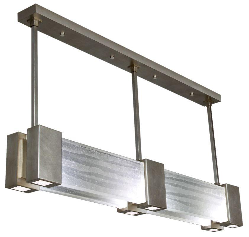 "Fine Art Lamps 825040-33ST Crystal Bakehouse 55"" Wide Six-Light Linear"