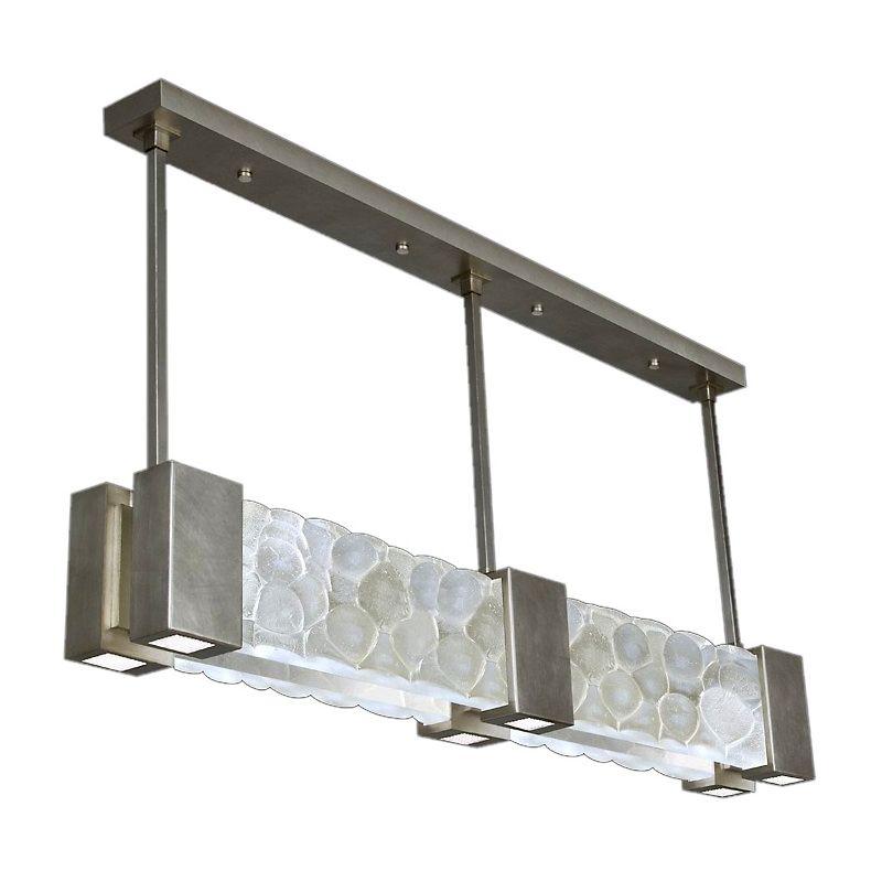 "Fine Art Lamps 825040-34ST Crystal Bakehouse 55"" Wide Six-Light Linear"