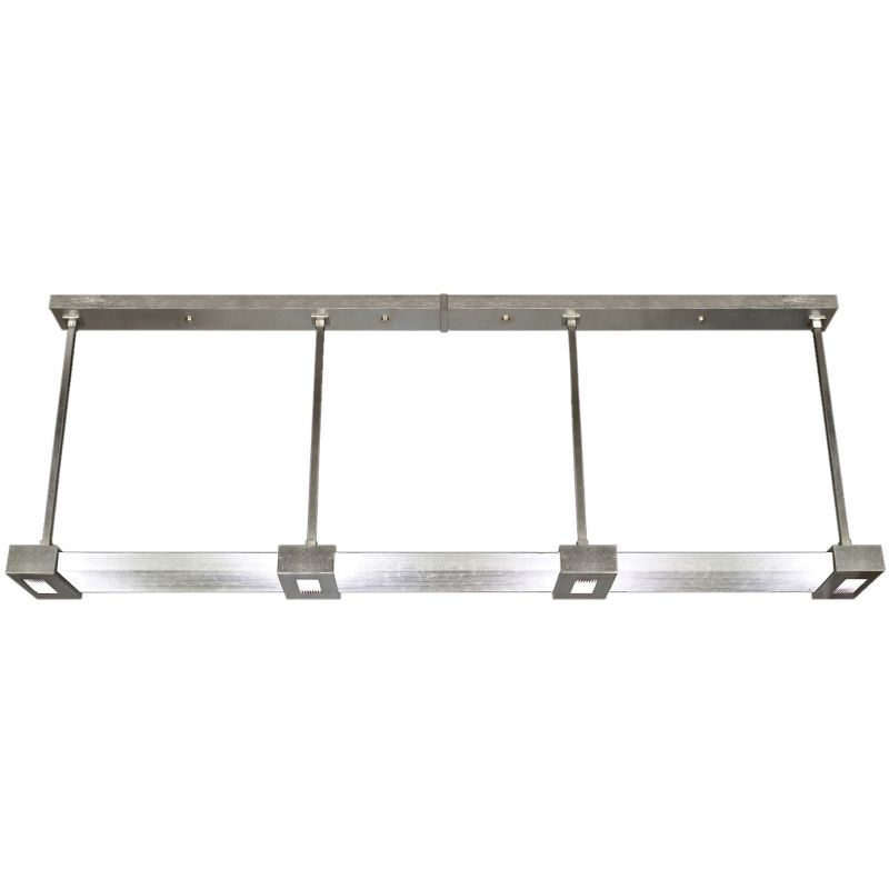"Fine Art Lamps 826640-33ST Crystal Bakehouse 81"" Wide Two-Light Linear"