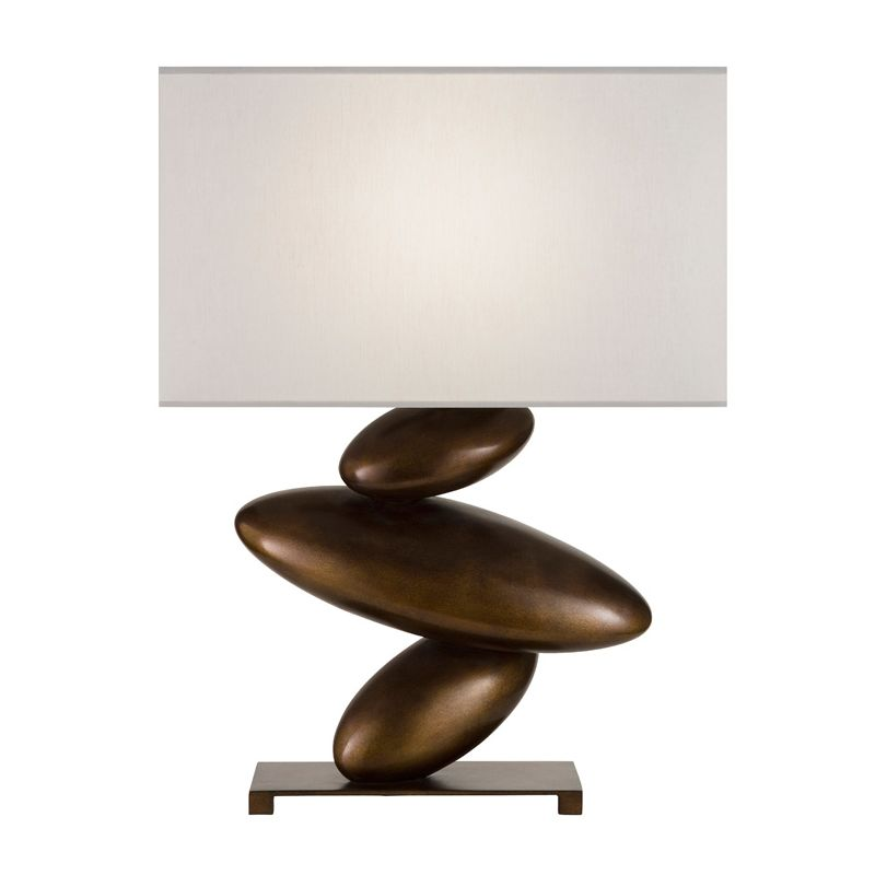 Fine Art Lamps 829810-2ST Recollections Single-Light 3-Way Table Lamp