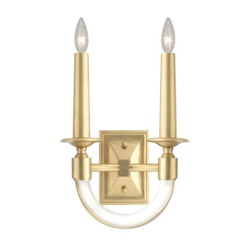 Fine Art Lamps 846450-2ST 2 Light Wall Sconce in Antique Brass Finish Sale $567.00 ITEM#: 2734118 MODEL# :846450-2ST :