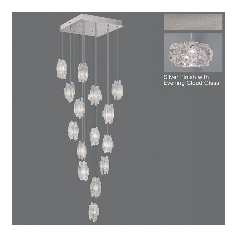 Fine Art Lamps 853040-11ST Natural Inspirations 15 Light Foyer Pendant Sale $4011.00 ITEM#: 2730929 MODEL# :853040-11ST :