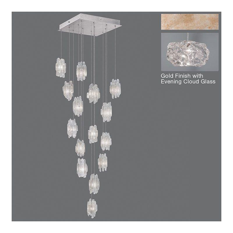 Fine Art Lamps 853040-11ST Natural Inspirations 15 Light Foyer Pendant Sale $4011.00 ITEM#: 2730935 MODEL# :853040-21ST :