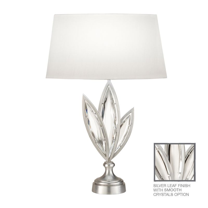 Fine Art Lamps 854410-11ST 1 Light Accent Table Lamp in Platinized