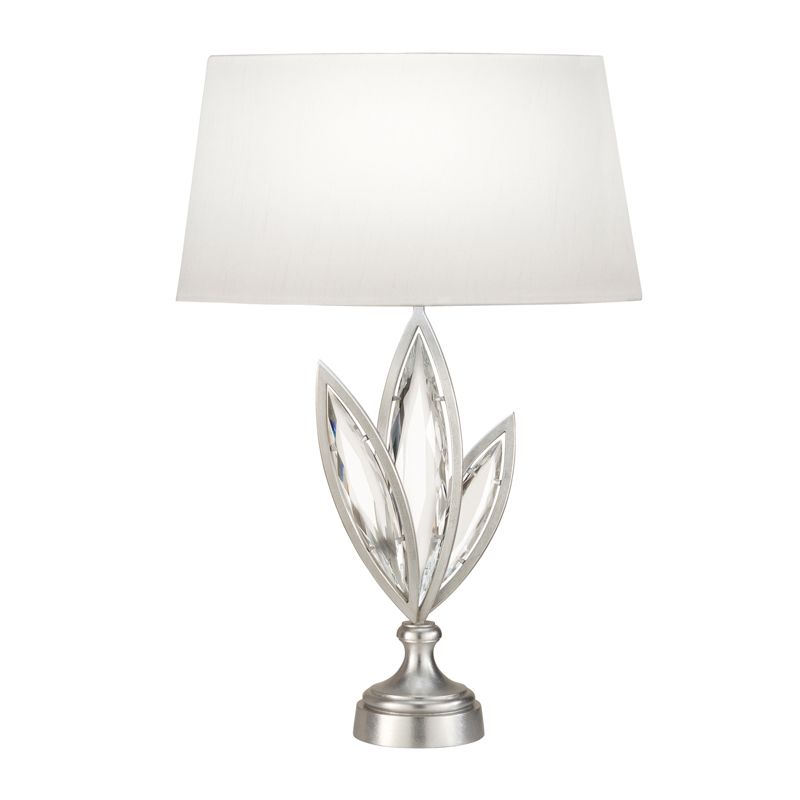 Fine Art Lamps 854410-12ST 1 Light Accent Table Lamp in Platinized