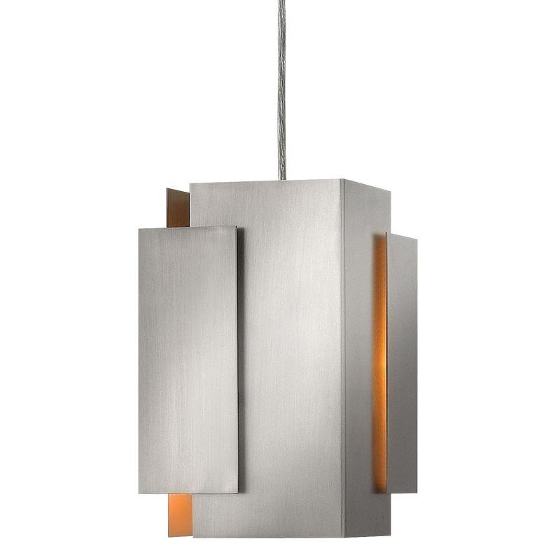 Fredrick Ramond FR30407 1 Light Mini Pendant from the Stratus Sale $189.00 ITEM#: 2201840 MODEL# :FR30407BNI UPC#: 640665906158 :