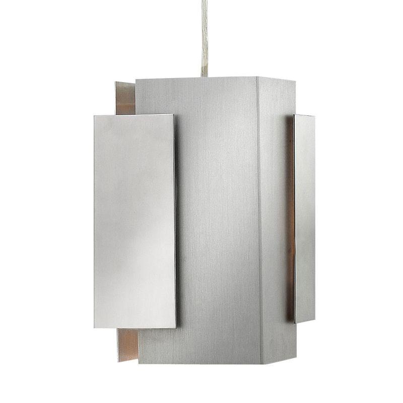 Fredrick Ramond FR30407 1 Light Mini Pendant from the Stratus Sale $159.00 ITEM#: 2658656 MODEL# :FR30407PBA UPC#: 640665906066 :
