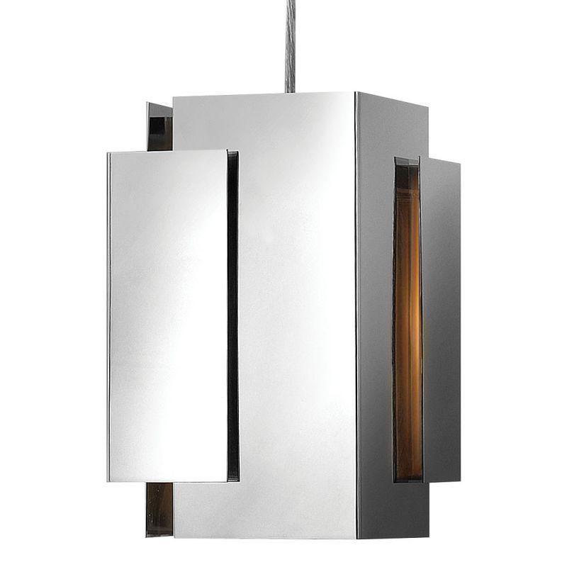 Fredrick Ramond FR30407 1 Light Mini Pendant from the Stratus Sale $189.00 ITEM#: 2201839 MODEL# :FR30407PNI UPC#: 640665906165 :