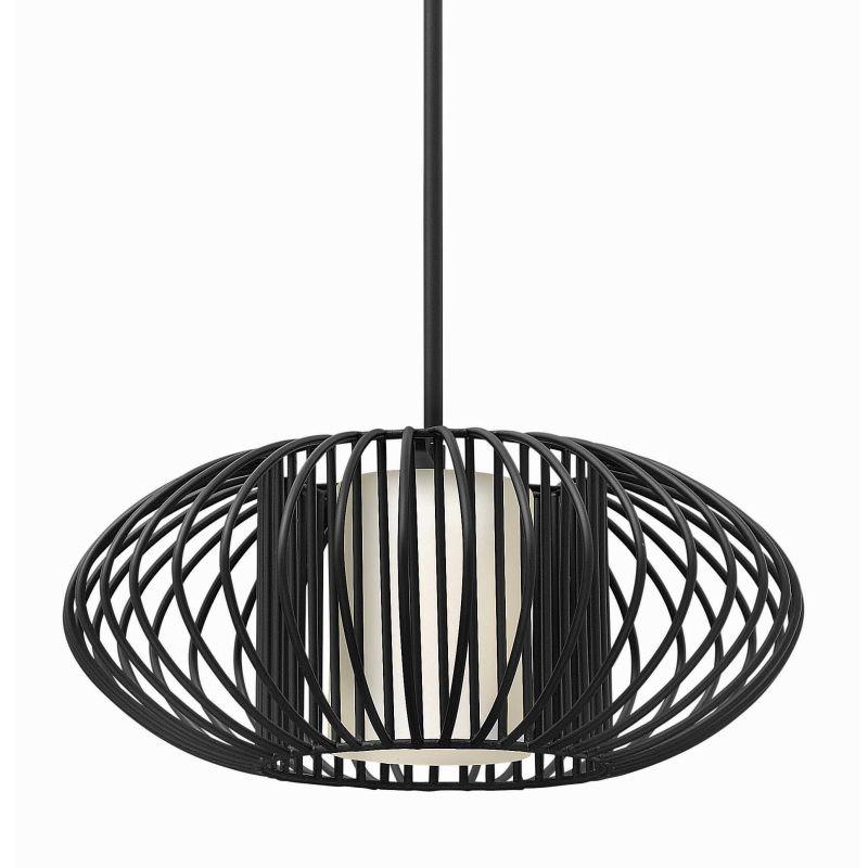 Fredrick Ramond FR32557 1 Light Full Sized Pendant from the Vibe Sale $469.00 ITEM#: 2658661 MODEL# :FR32557BLK UPC#: 640665000801 :