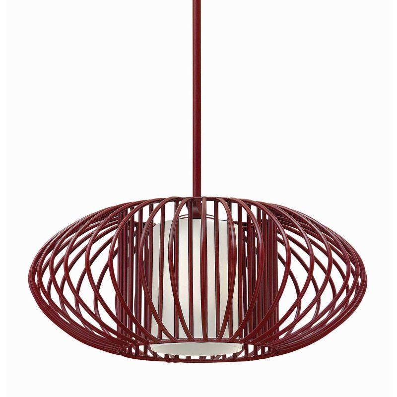 Fredrick Ramond FR32557 1 Light Full Sized Pendant from the Vibe Sale $469.00 ITEM#: 2658663 MODEL# :FR32557CRM UPC#: 640665001099 :