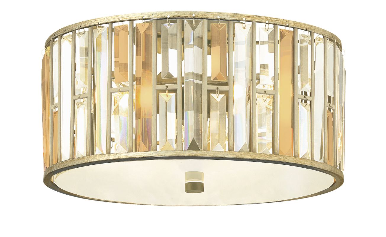 Fredrick Ramond FR33731 3 Light Flush Mount Ceiling Fixture from the Sale $499.00 ITEM#: 2662148 MODEL# :FR33731SLF UPC#: 640665001747 :