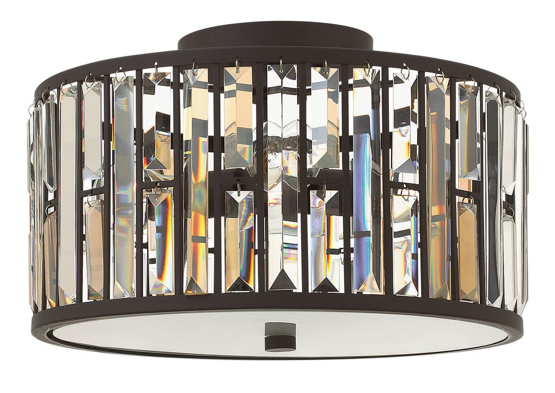 Fredrick Ramond FR33731 3 Light Flush Mount Ceiling Fixture from the Sale $499.00 ITEM#: 2662149 MODEL# :FR33731VBZ UPC#: 640665001495 :