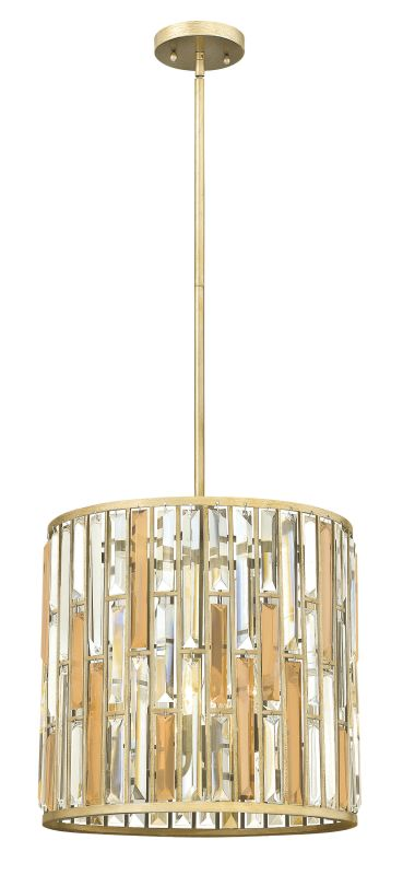Fredrick Ramond FR33734 3 Light Full Sized Pendant from the Gemma Sale $729.00 ITEM#: 2662150 MODEL# :FR33734SLF UPC#: 640665001761 :