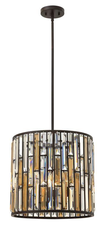 Fredrick Ramond FR33734 3 Light Full Sized Pendant from the Gemma Sale $729.00 ITEM#: 2662151 MODEL# :FR33734VBZ UPC#: 640665000948 :