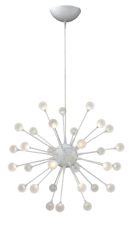 Fredrick Ramond FR44413 30 Light LED 1 Tier Chandelier from the