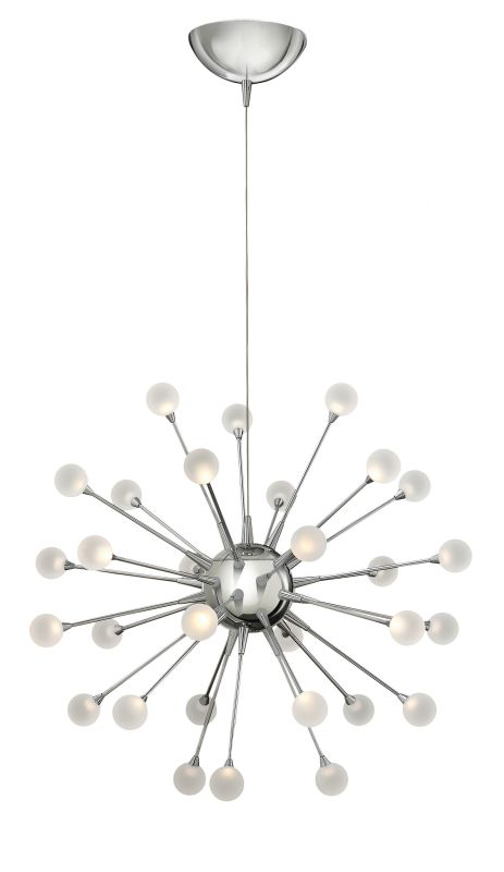 Fredrick Ramond FR44413 30 Light LED 1 Tier Chandelier from the Sale $1399.00 ITEM#: 2658506 MODEL# :FR44413PCM UPC#: 640665001075 :