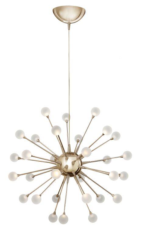 Fredrick Ramond FR44413 30 Light LED 1 Tier Chandelier from the Sale $1399.00 ITEM#: 2658507 MODEL# :FR44413POG UPC#: 640665001082 :