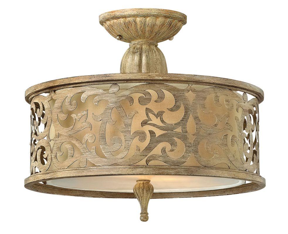 Fredrick Ramond FR44621 2 Light Semi-Flush Ceiling Fixture from the Sale $359.00 ITEM#: 2662173 MODEL# :FR44621BCH UPC#: 640665904437 :