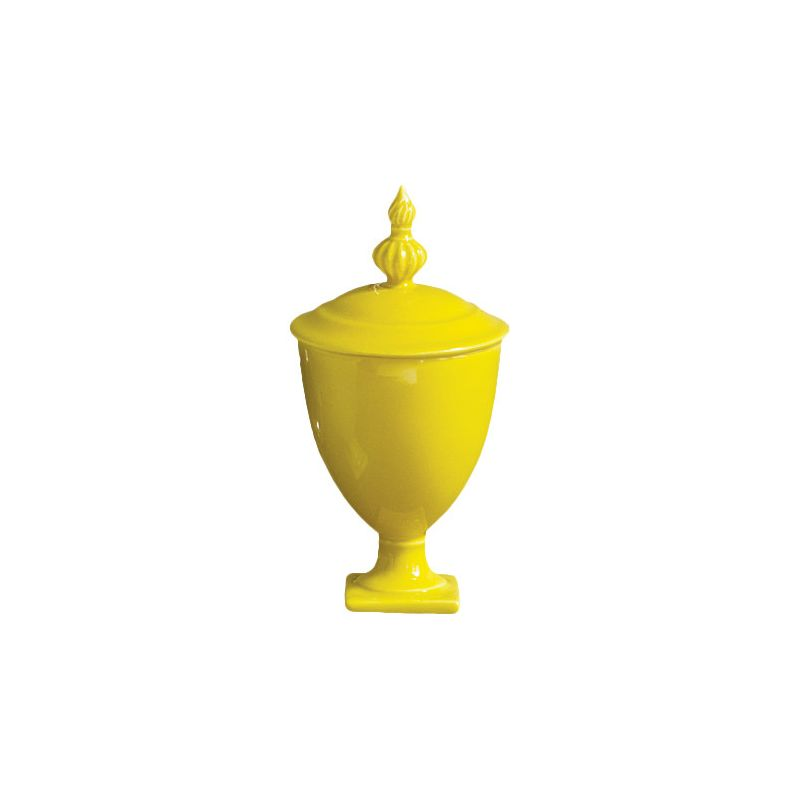 Global Views 4.80115 Beaufort Mini Urn Apple Green Home Decor
