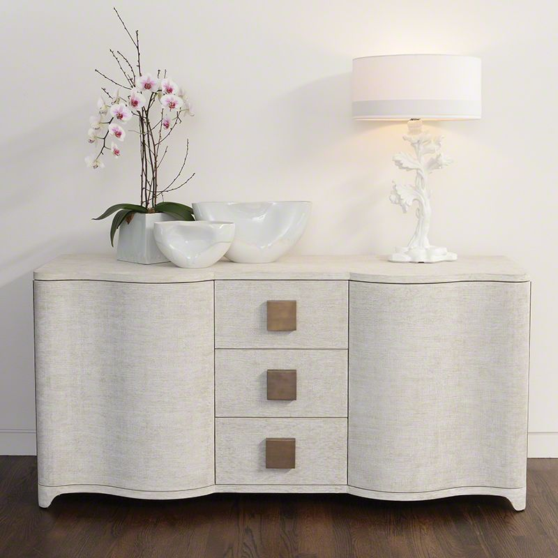 Global Views 7.20020 Toile Linen Credenza Toile Furniture Cabinets