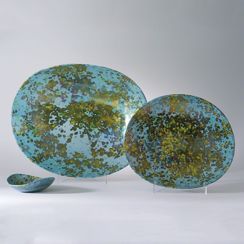 Global Views Galaxy Folded Celestial Bowl - Available in 3 Sizes