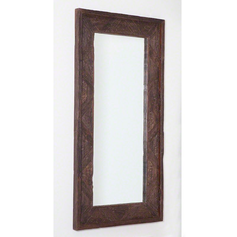 "Global Views 7.90268 Deer Valley Rectangular Floor Mirror 94.5"" x"