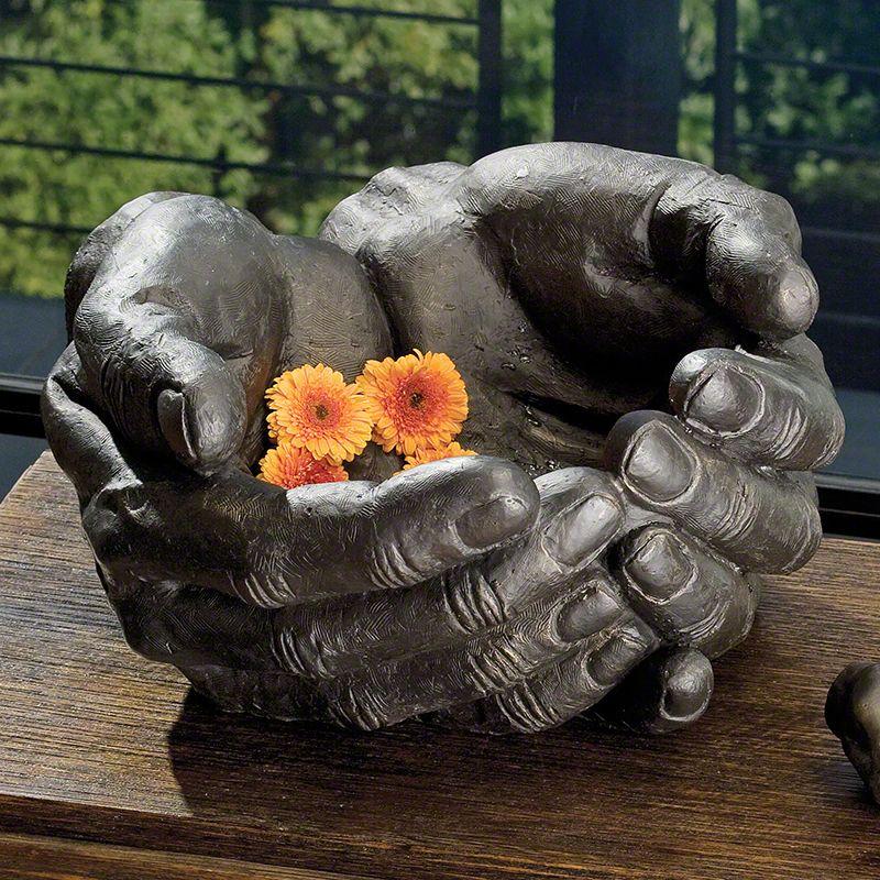Global Views 8.80853 Grande Hand Bronze Bowl Bronze Home Decor