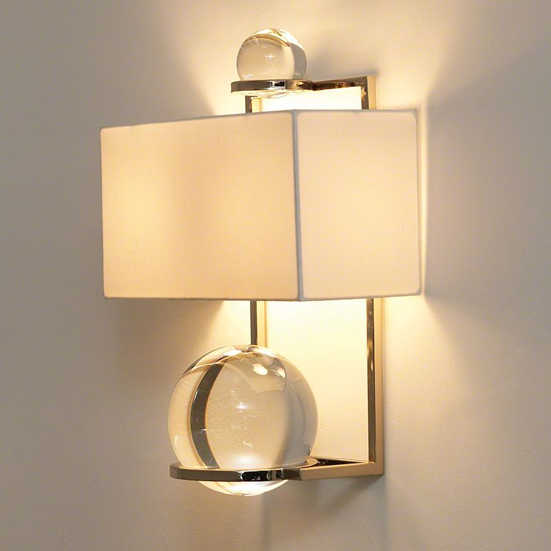 Global Views 8.81168 Fortune Teller 1 Light Wall Sconce Polished