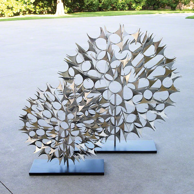 Global Views Cosmos Iron Sculpture - Available in 2 Sizes Small