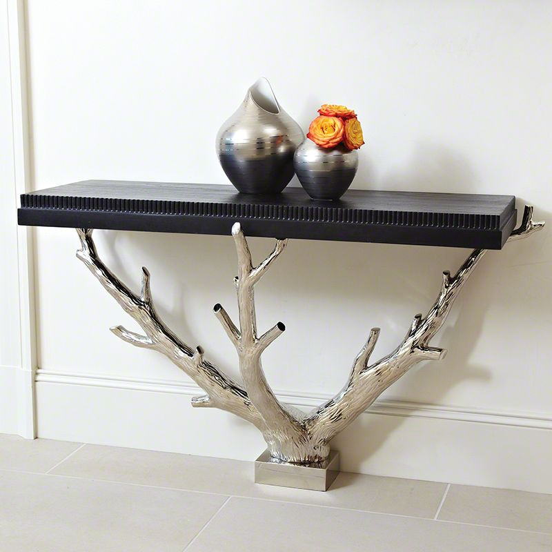 Global Views 9.92245 Branch Wall Console Black Furniture Console