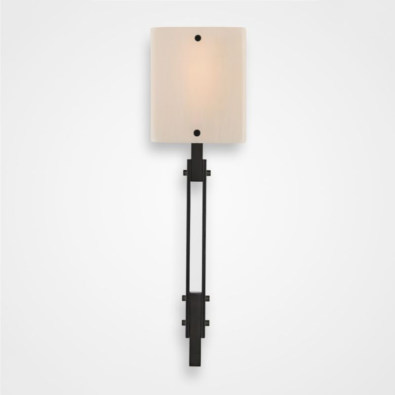 "Hammerton Studio CSB0026-0D Urban Loft Single Light 21"" High Wall Sale $550.00 ITEM#: 2960621 MODEL# :CSB0026-0D-GM-XX-XX :"