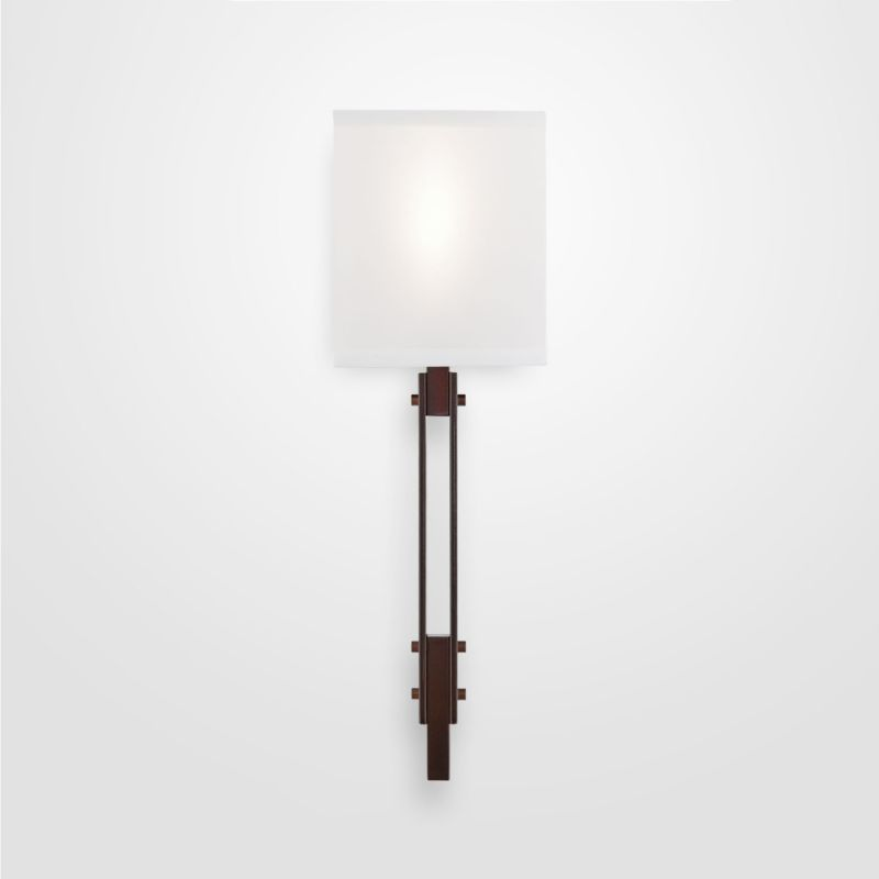 "Hammerton Studio CSB0026-0D-SH Urban Loft Single Light 21"" High Wall Sale $550.00 ITEM#: 2960625 MODEL# :CSB0026-0D-RB-SH-XX :"