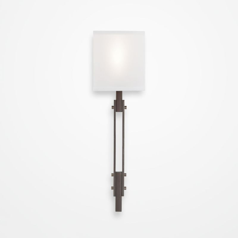 "Hammerton Studio CSB0026-0D-SH Urban Loft Single Light 21"" High Wall Sale $550.00 ITEM#: 2960626 MODEL# :CSB0026-0D-SN-SH-XX :"