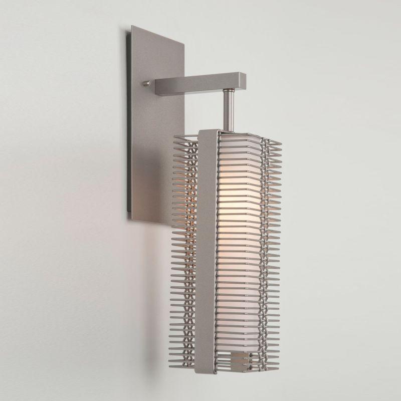 """Hammerton Studio IDB0020-11 Downtown Mesh Single Light 16"""" High Wall Sale $550.00 ITEM#: 2960730 MODEL# :IDB0020-11-BS-XX-XX :"""