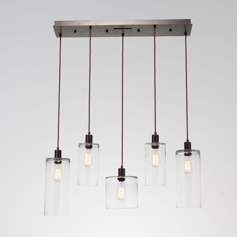 "Hammerton Studio PLB0041-05 Apothecary 5 Light 37.8"" Wide Linear Sale $1795.00 ITEM#: 2961004 MODEL# :PLB0041-05-FB-C-C01-E2 :"