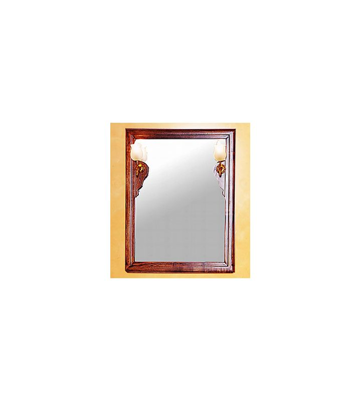 Herbeau 5823 Powder Room Collection Celine Mirror with Decorative