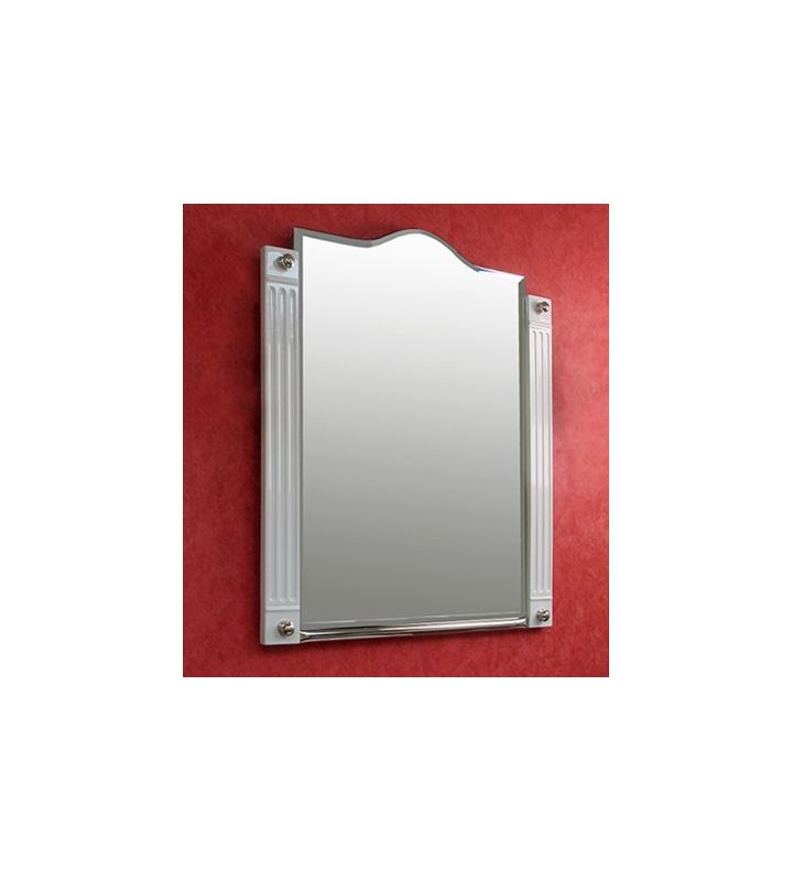 """Herbeau 1248 Monarque Collection 26-3/4"""" Mirror with Decorative Frame"""