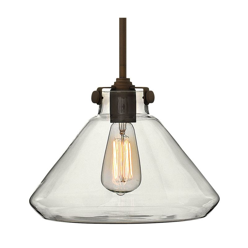 "Hinkley Lighting 3137 1 Light 9.75"" Height Indoor Full Sized Pendant"