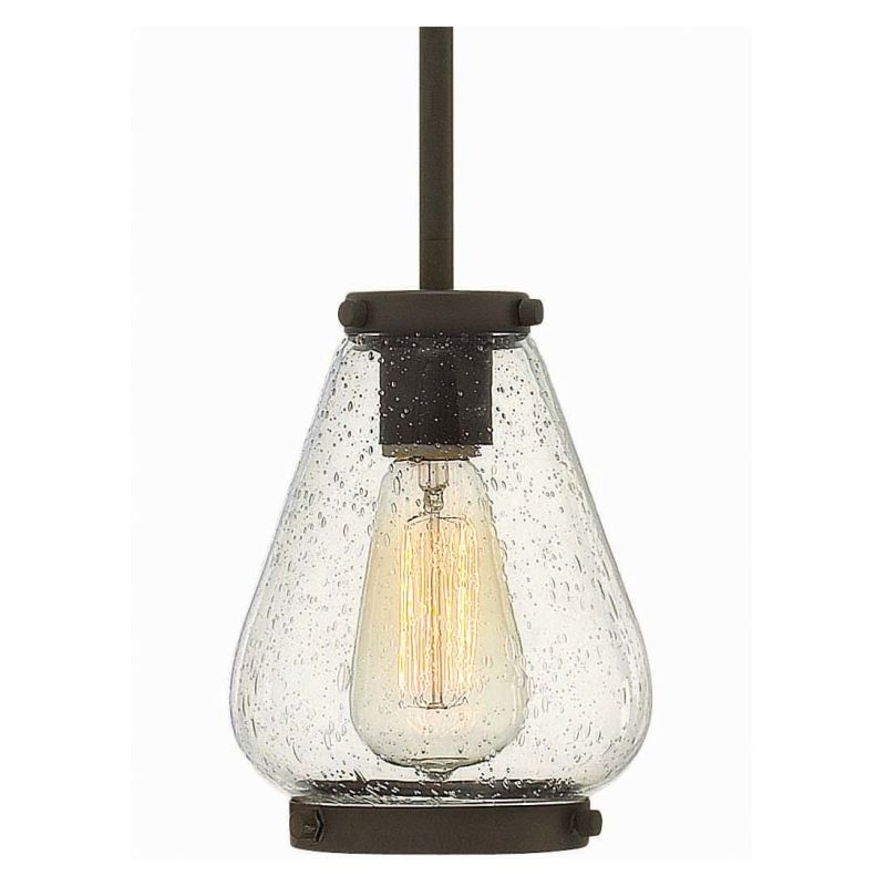 Hinkley Lighting 3687 1 Light Indoor Mini Pendant from the Finley