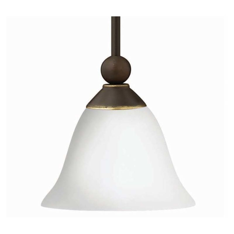 "Hinkley Lighting 4667-OPAL 1 Light 9"" Height Indoor Mini Pendant with"