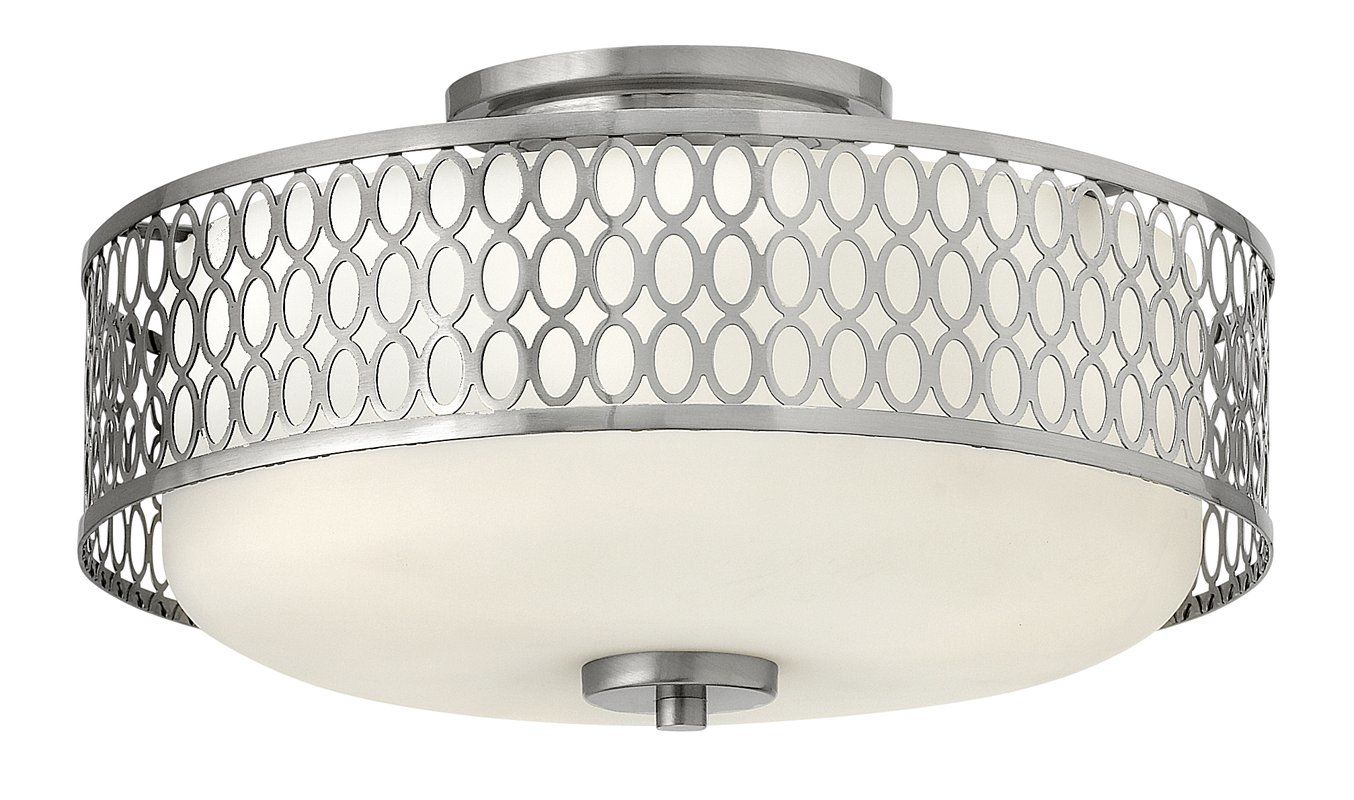 Hinkley Lighting 53241-LED 1 Light LED Indoor Semi-Flush Ceiling Sale $489.00 ITEM#: 2362295 MODEL# :53241BN-LED UPC#: 640665532463 :