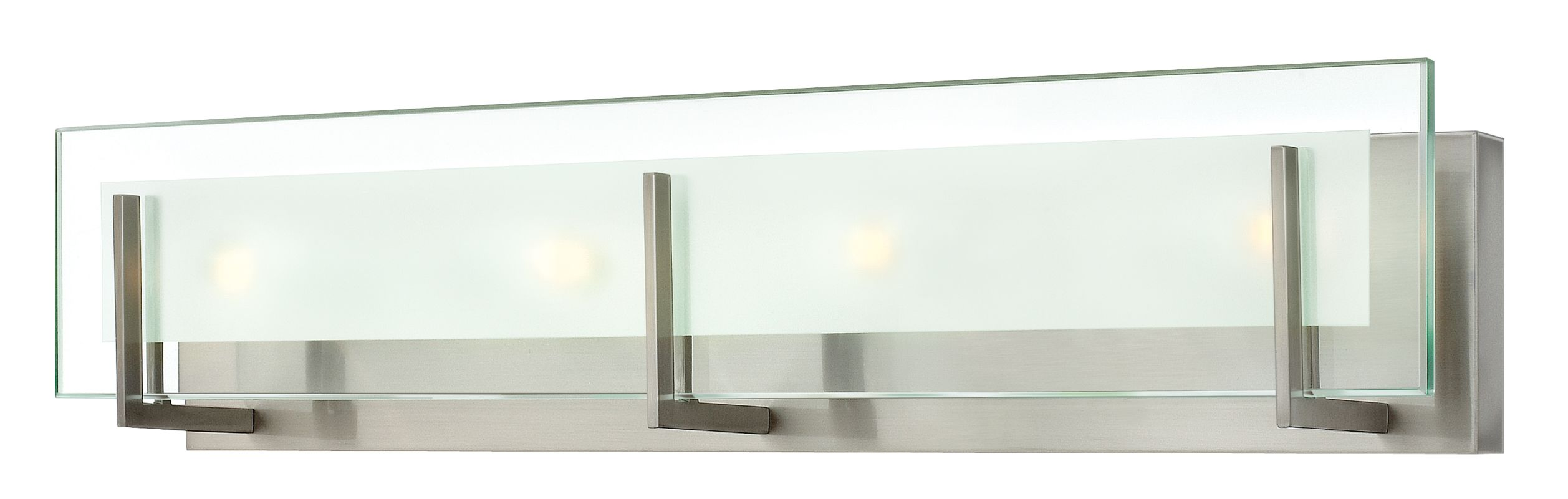 Hinkley Lighting 5654 4 Light ADA Compliant Bath Bar from the Latitude Sale $229.00 ITEM#: 1871671 MODEL# :5654BN UPC#: 640665565409 :