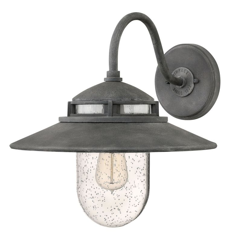 Hinkley Lighting 1114 1 Light Outdoor Wall Sconce From the Atwell Sale $299.00 ITEM#: 2951047 MODEL# :1114DZ UPC#: 640665111422 :