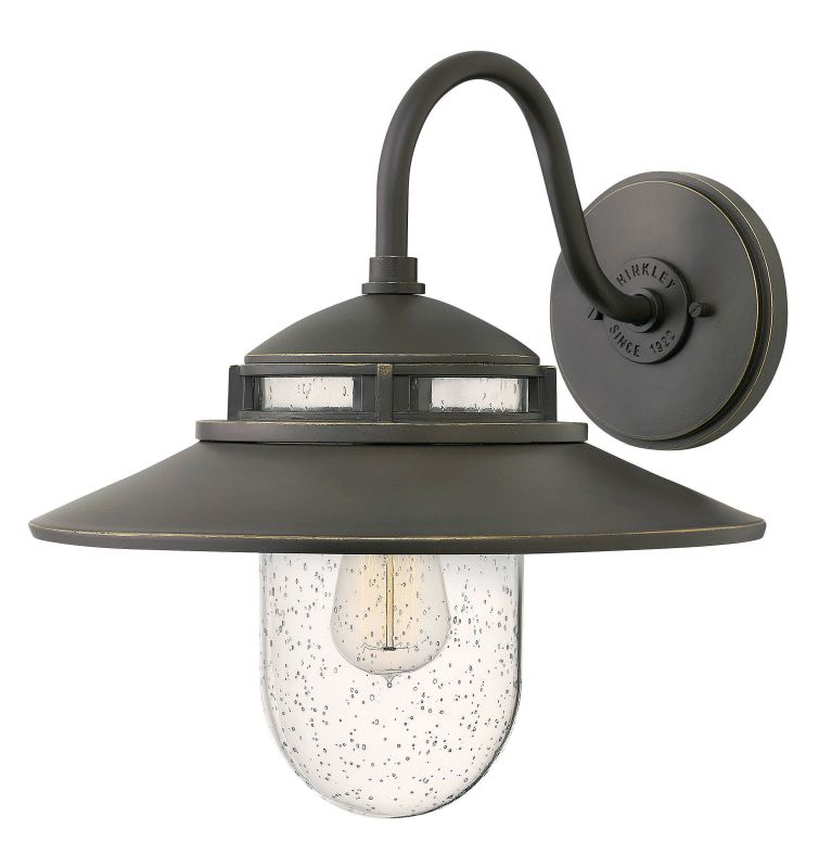 Hinkley Lighting 1114 1 Light Outdoor Wall Sconce From the Atwell Sale $299.00 ITEM#: 2951048 MODEL# :1114OZ UPC#: 640665111446 :