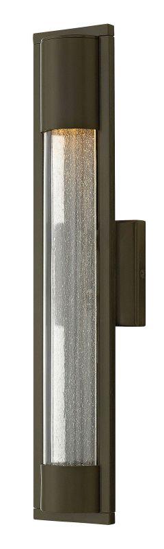 Hinkley Lighting 1224 1 Light ADA Compliant Outdoor Wall Sconce From Sale $189.00 ITEM#: 2951163 MODEL# :1224BZ UPC#: 640665122435 :