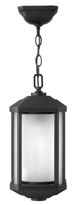 Hinkley Lighting 1392-GU24 1 Light Outdoor Lantern Pendant with Sale $239.00 ITEM#: 2225736 MODEL# :1392BK-GU24 UPC#: 640665139242 :