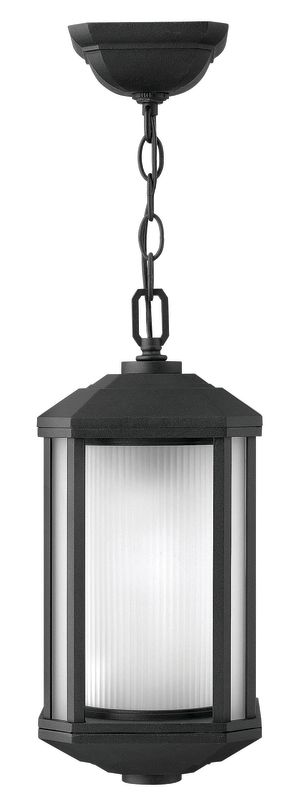 Hinkley Lighting 1392-LED 1 Light LED Outdoor Small Pendant from the Sale $319.00 ITEM#: 2634934 MODEL# :1392BK-LED UPC#: 640665139266 :