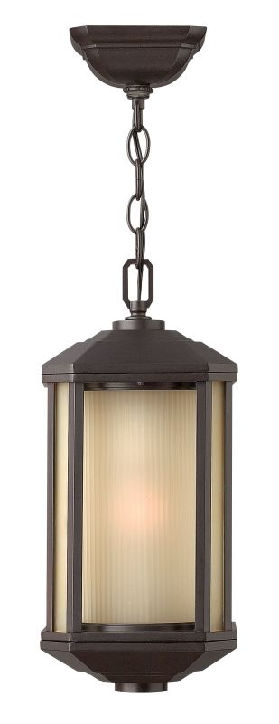 Hinkley Lighting 1392-GU24 1 Light Outdoor Lantern Pendant with Sale $239.00 ITEM#: 2225526 MODEL# :1392BZ-GU24 UPC#: 640665139259 :